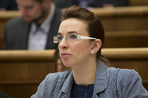 Poslankyňa Simona Petrík.