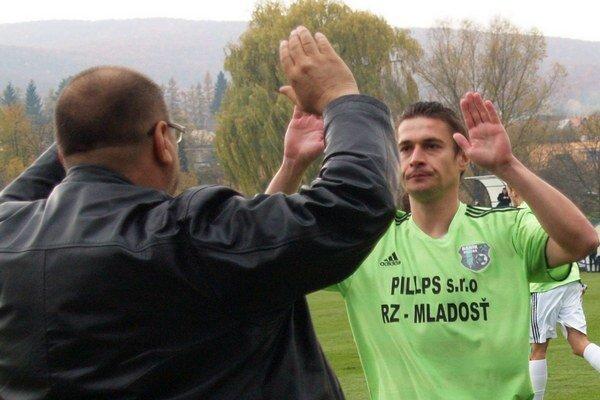 Ján Štajer, autor gólu Ružinej v stretnutí s béčkom Košíc.