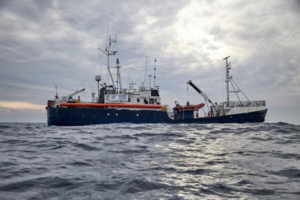 Loď Alan Kurdi.