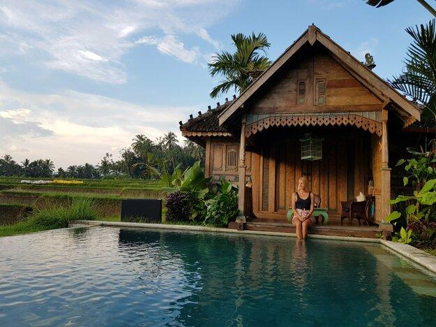 Typický balijský Joglo domček