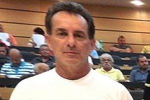 Róbert Kolka, člen realizačného tímu futbalového klubu Baník Kalinovo.