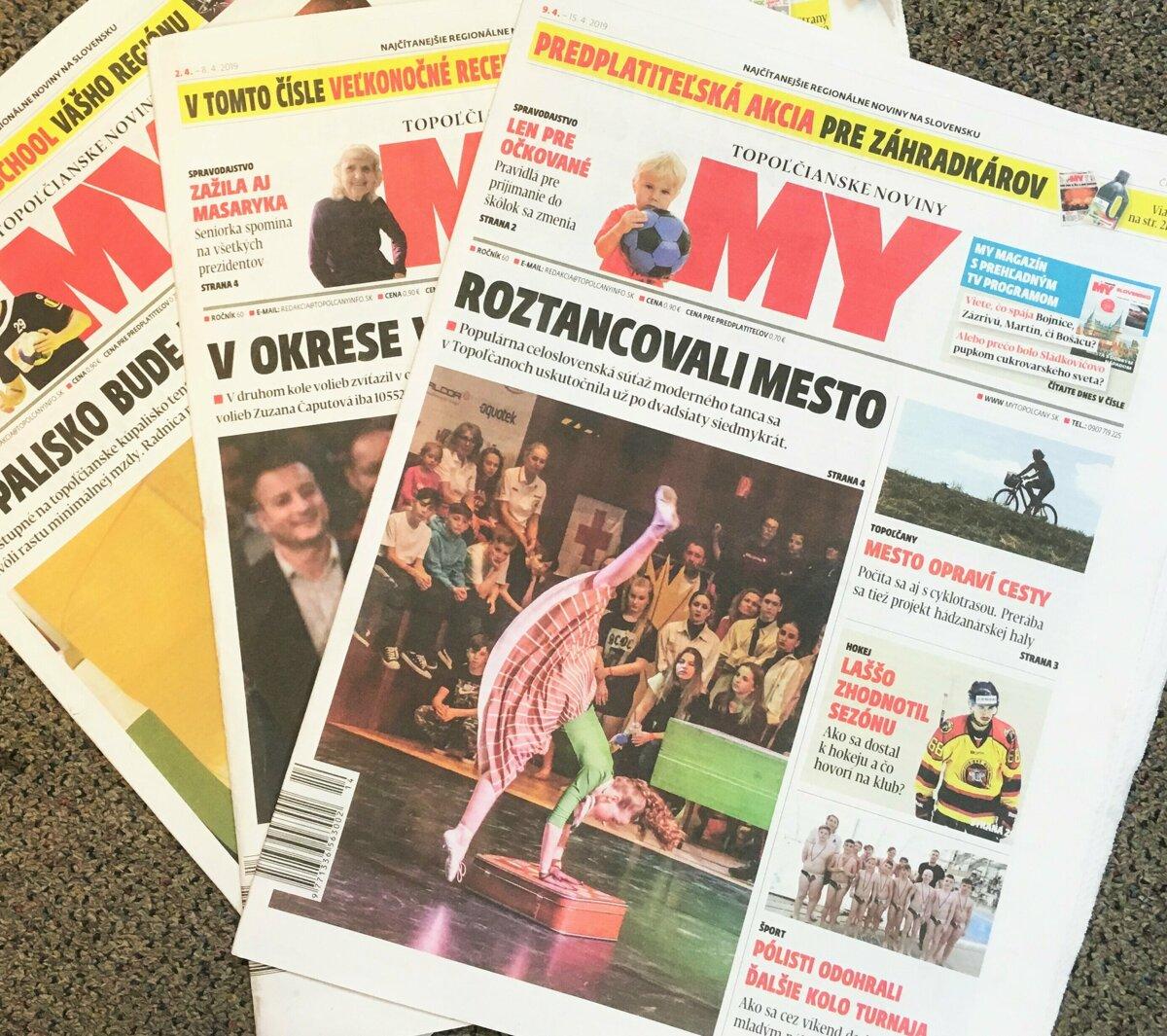 e70925d42 Prečo čítate MY Topoľčianske noviny Dnešok? - SME | MY Topoľčany