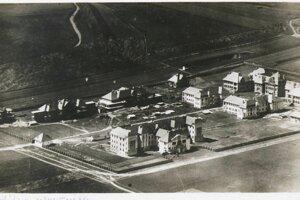 Štátna nemocnica vo výstavbe.