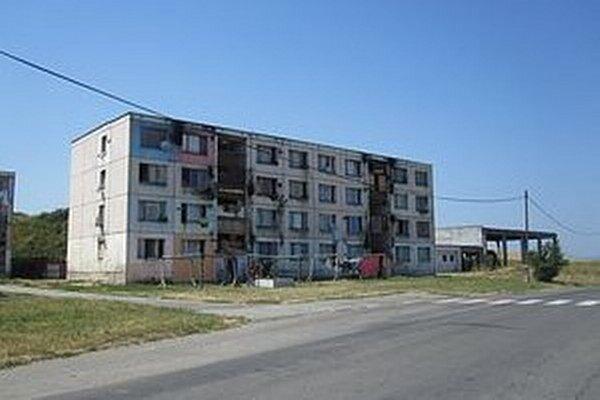 Bytovka na Dúžavskej ceste.