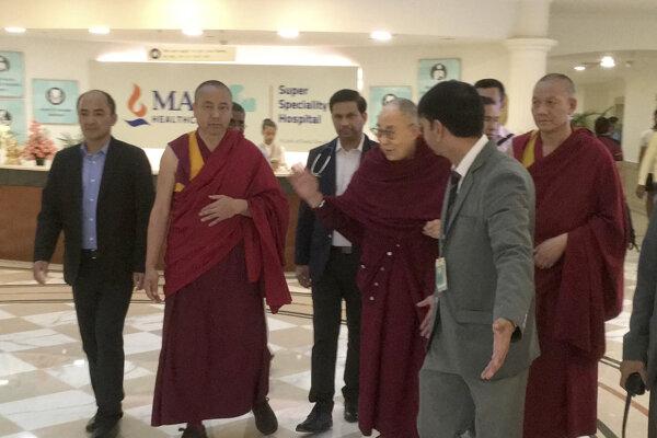 Dalajlámu prepustili z nemocnice.