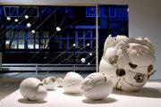 Pohľad do výstavy Marie Bartuszovej vo Varšave