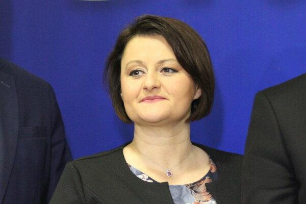 Natália Blahová z SaS.