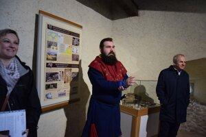 Už v stálej expozícii hradného múzea.
