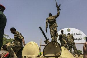Vojaci sudánskej armády.