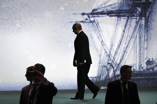 Ruský prezident Valdimir Putin.