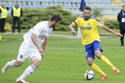 Kamil Kuzma (vpravo) má za sebou bohatú ligovú minulosť. Okrem Košíc hrával aj v Trnave.