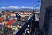Výhľad z veže.