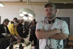 Režisér Michal Kollár počas nakrúcania Červeného kapitána