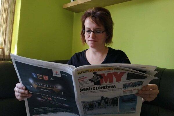 Simona Melicherová.