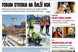Aktuálne číslo Prešovských novín.