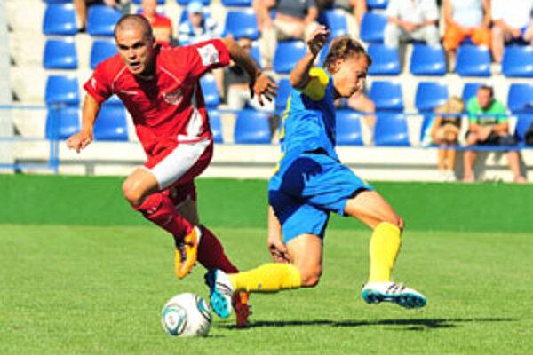 Futbalistom Rimavskej Soboty sa na východe nedarilo.