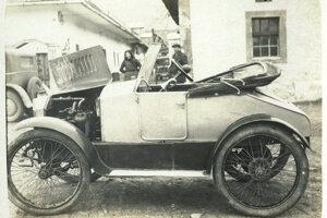 Takto vyzeralo prvé auto zostrojené na Slovensku.