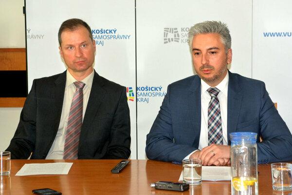 Zľava Gabriel Šipoš a Rastislav Trnka.