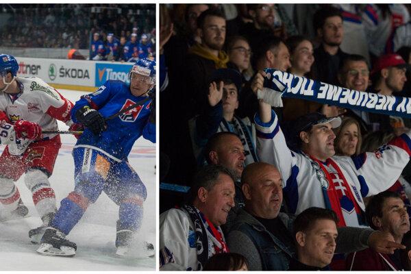 Hoci naši reprezentanti na rivala nemali, fanúšikovia z celej krajiny sa v Nitra Aréne zabávali.