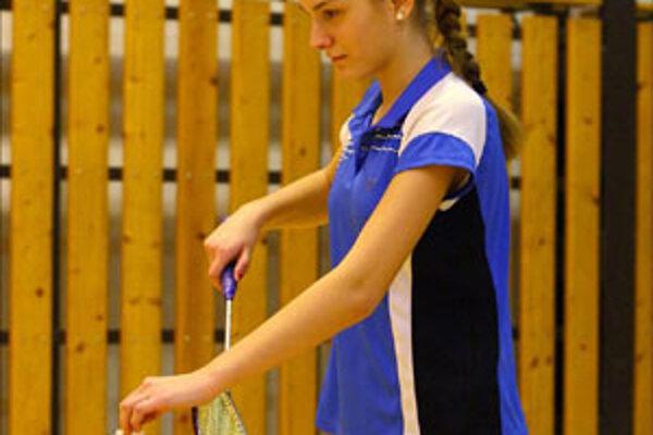 Nikoleta Bálintová získala na turnaji tri medaily.