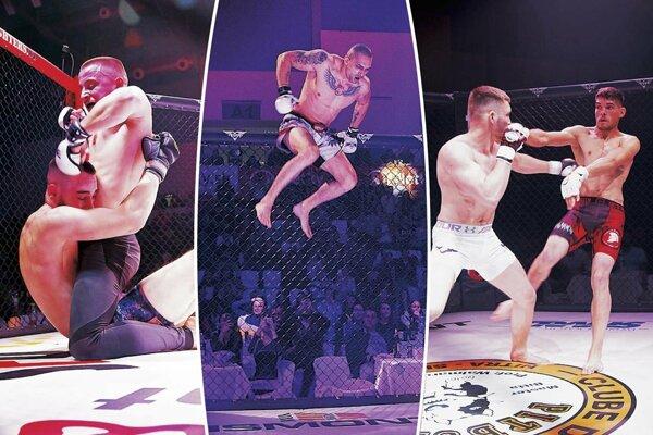 Fanúšikovia bojových umení videli v Nitre ôsme pokračovanie Foght of Gladiators.