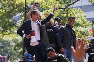 Juan Guaidó vyzval na uskutočnenie prevratu.