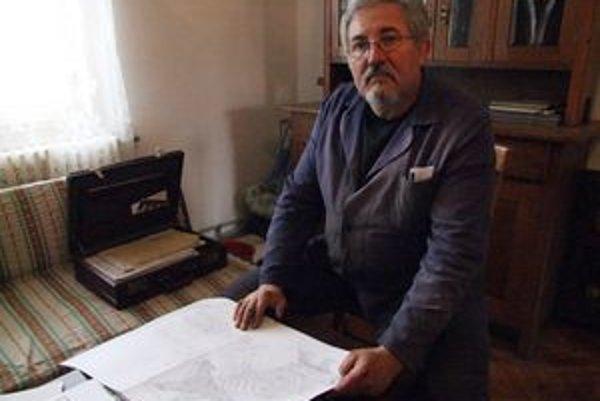 Zameranie umeleckého kováča z Chanavy je všestranné.