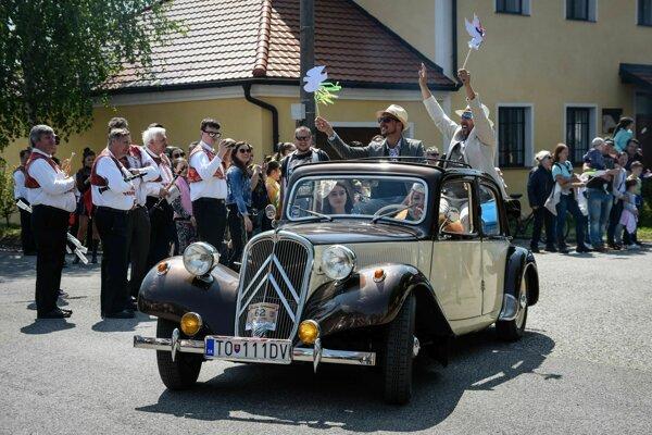 Retro oslavy v Dojči sa v stredu uskutočnili už po 9-krát.