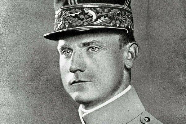 Generál M. R. Štefánik.