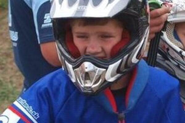 Motokrosový pretekár Viktor Dreisig.