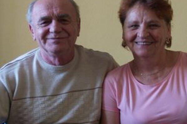 Anna a Ján Kákovci oslávili rubínovú svadbu.