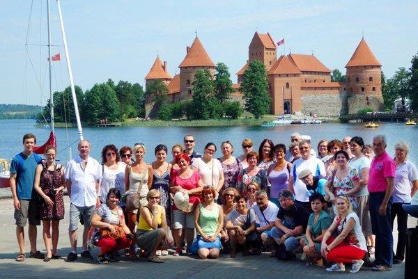 Členovia zboru Rozkvet si pozreli aj litovské mesto Trakai.