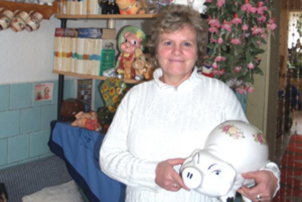 Prvé prasiatko si Marta Čániová zo Zeleného kúpila ako dvadsaťročná.
