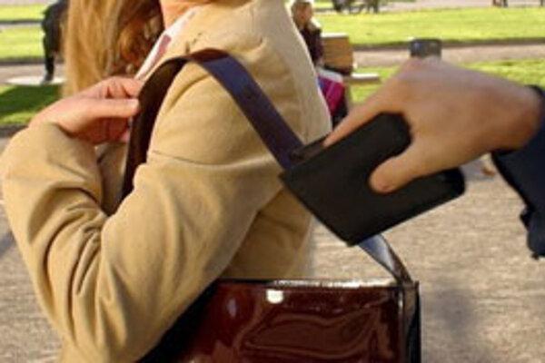 Minulý týždeň zaznamenala polícia v Banskobystrickom kraji 13 prípadov krádeží peňaženiek z tašiek a kabeliek.