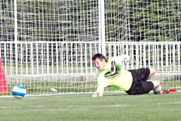 Brankár Martin Kuciak považuje rimavskosobotskú futbalovú zastávku za úspešnú.