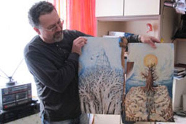 V rodine Zoltána Kovácsa z Fiľakova je viacero umelcov.