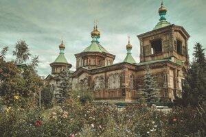 Kirgizsko - mesto Karakol.