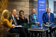 Diskusia Denníka SME s kandidátmi na europoslancov.