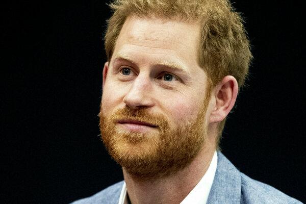 Princ Harry.