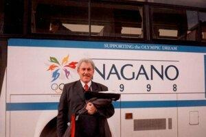 Miloslav Klíma na ZOH 1998 v Nagane.