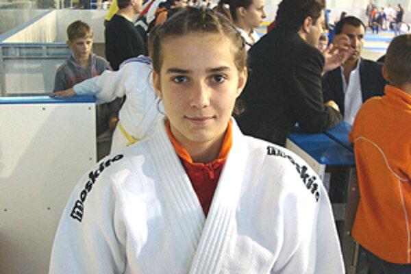 Nádejná džudistka Sophia Kanátová sa v súťaži umiestnila na bronzovej priečke.