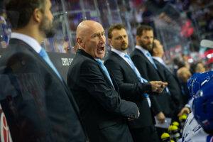 Tréner slovenskej reprezentácie Craig Ramsay.