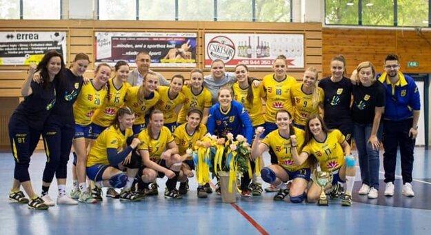 Prvú ligu vyhrali hádzanárky MŠK Dunajská Streda.