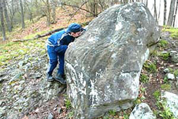 Trúbiaci kameň je dlhý 3,5 metra, široký 240 centimetrov a vysoký viac ako meter.