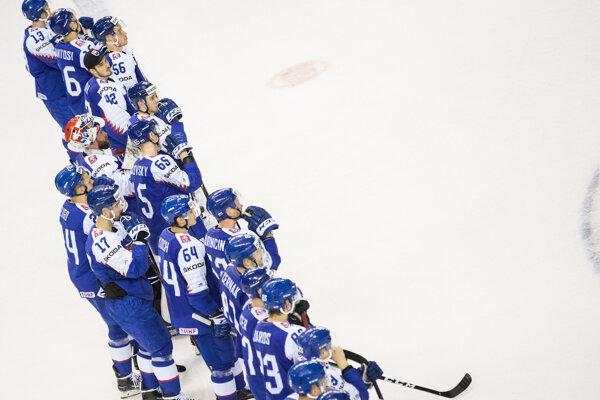 Hokejisti Slovenska na MS v hokeji.
