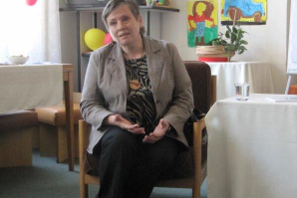 Spisovateľka Marta Hlušíková.