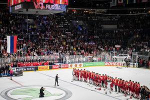 c123fe03d0624 MS v hokeji 2019: Momenty zo zápasu o bronz Rusko - Česko. (37 fotografií)