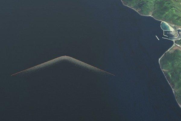 """Plávajúci """"vysávač"""" by mohol mať dĺžku až dva kilometre."""