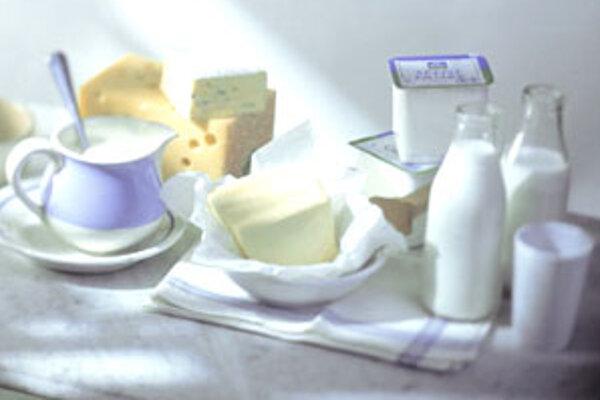 Alarmujúco nízka je spotreba mlieka a mliečnych výrobkov, čo sa odráža v nedostatku vápnika.