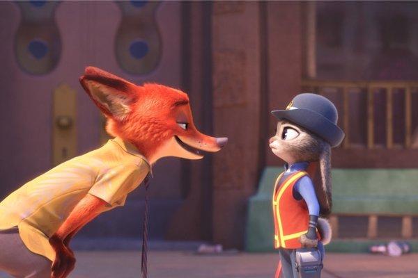 Lišiak + Zajačica = Veľká láska.